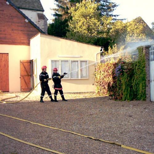 intervention des pompiers à la mairie-02