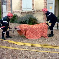 intervention des pompiers à la mairie-03
