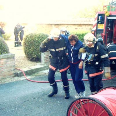 intervention des pompiers 9.10.05