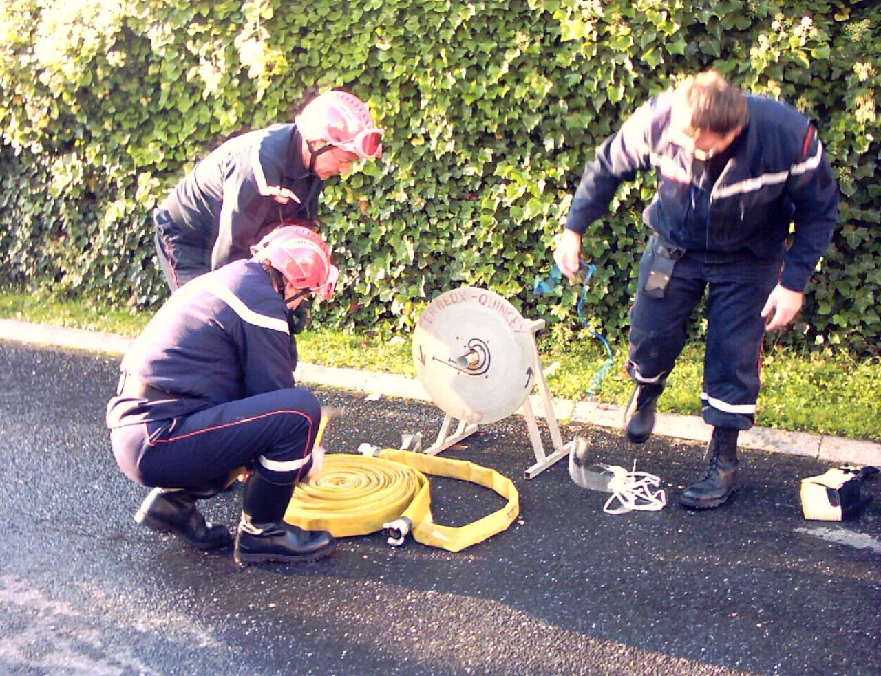 intervention des pompiers à la mairie-23