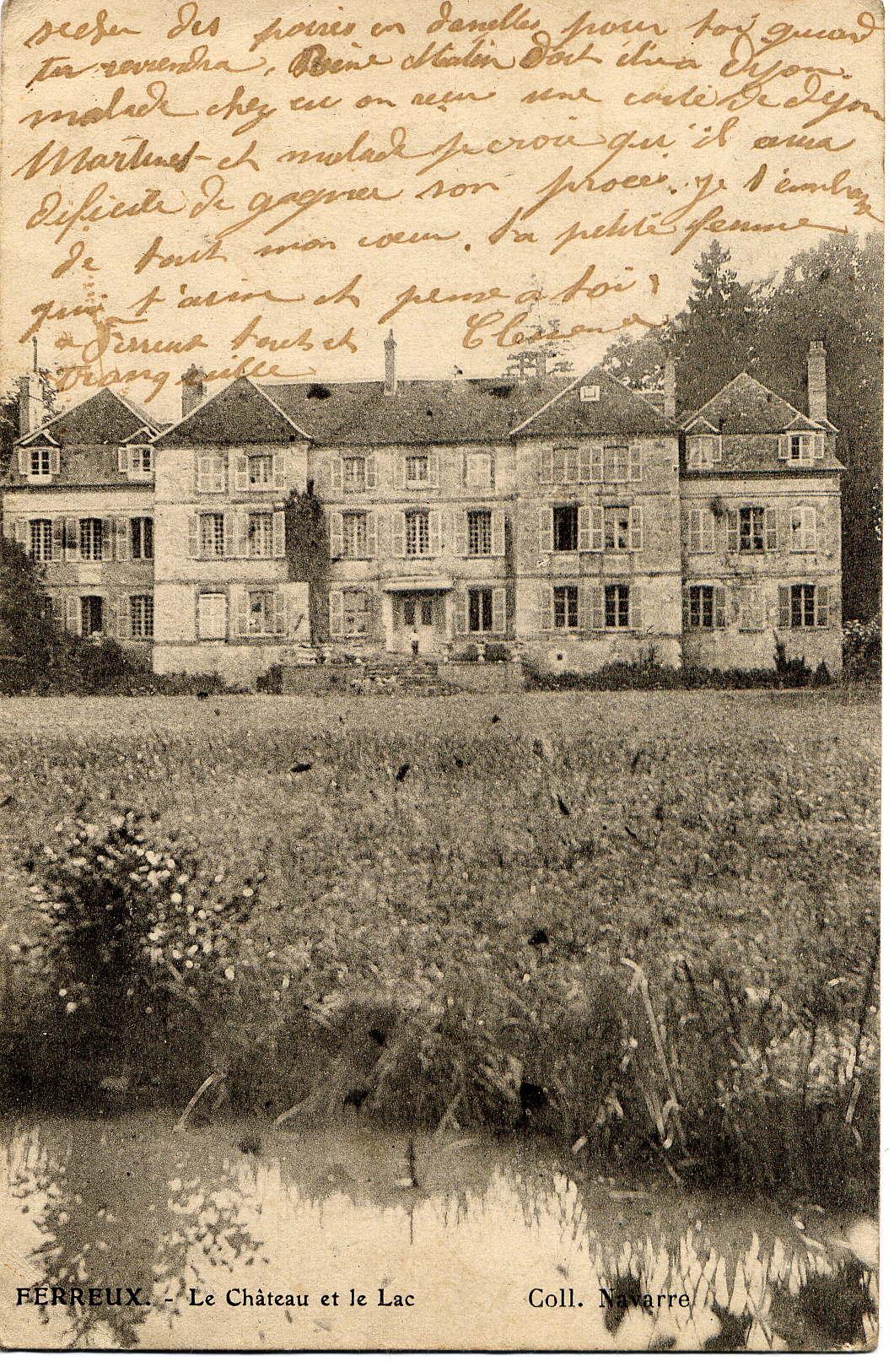 Château de Ferreux-Quincey 1900